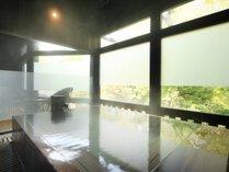 ■貸切風呂【里の恵み湯】バリアフリーに対応したお風呂です(収容人数:6名様) ※有料