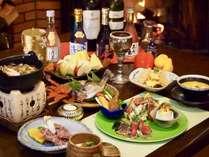 新鮮な食材を使用し一から作り上げた和洋折衷の創作料理になります。