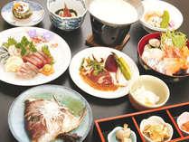 スタンダードプランでは(豚しゃぶor豆乳海鮮鍋)のどちらかお選び頂けます。画像は海鮮鍋です!