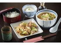 夕食 ビジネスプランのイメージ(日替わり定食風)
