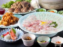 三魚物語(さんととものがたり)※お魚、お野菜、若狭ふぐから揚げは4名様盛