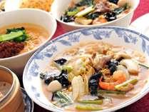 【ディナーステイ】中国料理「桃園」で本場四川の味に舌鼓♪(夕食のみ)