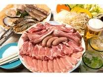 BBQ ~ブランド豚の手ぶらスタンダード~ (1泊夕食BBQ+朝食BOX特典付)