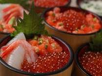 お好みの具材でオリジナルの海鮮丼♪