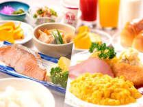 クチコミでも評判の『選べる』和洋朝食。素敵な1日の始まりにぴったり♪