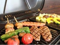 【バーベキューコース】福島県産ブランド食材をふんだんに使った人気のBBQです。