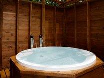 【ログプレミアム】当施設初の全客室露天風呂付!羽鳥湖温泉を源泉かけ流しで引き込んでいます。