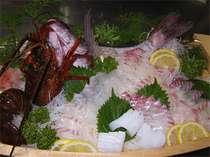 「祝い魚プラン」鯛+伊勢エビ&アワビ海幸満喫プラン