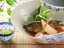 焼き魚一例。夏は鮎をご用意しております。≪基本和会席≫