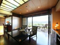 【満天manten】本館3階の特別室。展望テラス付。