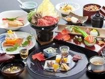 ■季節の和会席料理 例 旬の味覚をお楽しみ下さいませ。