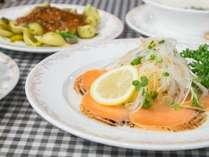 *[夕食一例]バランスよく、お魚料理やサッパリとした前菜もございます