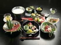【郷土会席】ご夕食は熊本の味を和食洋食の料理人が腕をふるう松屋ならではの味をお楽しみ頂けます
