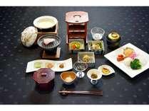 水前寺菜など熊本の食材を使った和朝食