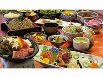 豪華お刺身5点盛り&国産牛陶板焼きプラン  ~夕・朝食時10種類のドリンクバー付~