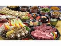 新)長野県産牛ヒレステーキ&リブロース食べ放題!!満腹プラン  ~夕・朝食時10種類のドリンクバー付~