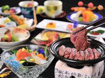 長野県産牛ステーキ食べ放題!