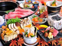 ≪2019秋≫今季の料理長一押し!信州産和牛と松茸のすき焼きand松茸の土瓶蒸し+松茸の釜めし