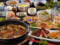 鰻の蒲焼&白焼き、鰻の柳川とウナギ好きにはたまりません♪