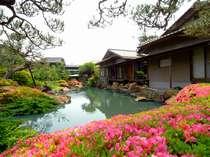日本建築の粋を集めた個性豊かな離れ11室。内9室は露天風呂付きのお部屋です。