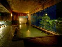 【男性大浴場】開湯1200年の歴史を誇る湯村温泉。武田信玄の隠し湯の一つと云われています。