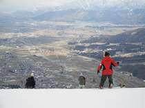 山頂からの眺めは最高(とある日の景観)