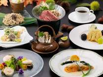 ■2021年秋・基本のお料理コース(和洋折衷)LaFusion一例※都合により内容が変わる場合がございます