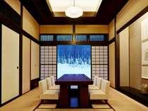 日本料理「風雅」北の地酒とともに、四季折々の旬の恵みをつかった会席料理をお楽しみください。