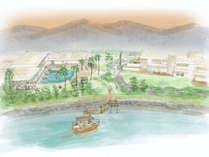 海のホテル島花 レジデンスヴィラ(イメージ)