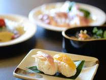 【田舎握り】地元・高知の食材を中心とした郷土料理をお召上がり下さい。