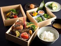 日本料理 からまつ 朝食