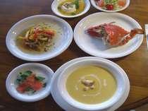 瀬戸内の美味ワタリガニをセットした人気プランです。