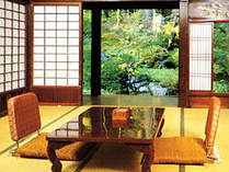 「和室」(写真はイメージ)文化財の指定を受けた建物の造りと独特の雰囲気をお楽しみください