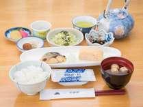 *【ご朝食一例】栄養バランスの整った和朝食をご用意いたしております。信州のふっくらご飯でどうぞ♪,長野県,公共の宿 ビレッジ安曇野