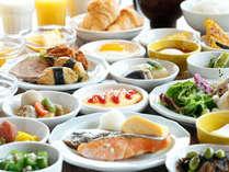 【朝食付き】充実の和洋バイキングプラン♪《朝食付》
