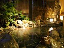 ◆男性外気浴風呂 営業時間15時~翌朝9時