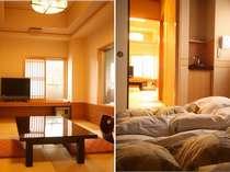 和室10畳+寝室専用の小部屋付(近代和風調に完成されたお部屋です。)(一例)