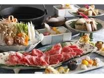 すき焼き鍋(一例・二人前盛り)