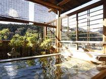 ●湯宿温泉唯一の無料貸切露天風呂