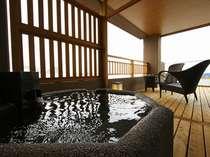 海のめぐみ (銭洲 ぜにす)の客室露天風呂 一例