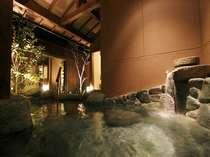 岩の貸切温泉露天風呂