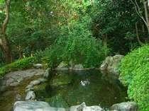 【風呂】森林浴・紅葉浴が楽しめる貸切露天風呂「もみじ湯」