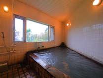 【貸切内風呂】誰にも邪魔されずゆったりと泥湯をお楽しみいただけます☆