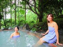 全国でも珍しい≪天然かけ流し泥湯温泉≫は美肌効果バツグン!
