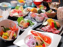 【特別美食会席】旬の食材を使用し、料理長が腕をふるう贅沢会席 ※季節により内容が異なります。