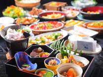 【朝食一例】日替わりで「特選朝御膳」もしくは「和洋バイキング」をご用意♪