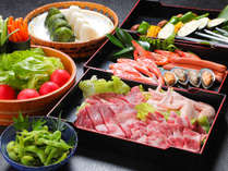 【BBQセットイメージ】お肉も♪野菜も♪当館にてご用意しております