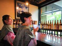 【カウンターバー】鹿児島が誇る「焼酎」をお湯あがりやお食事後にどうぞ
