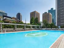 都会のオアシス「ガーデンプール」が夏季限定でオープン!2017年5月27日(土)~9月30日(土)