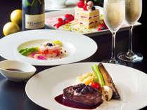 【21階以上・カップルステイ】ルームサービスディナー&シャンパン付き クリスマスステイプラン